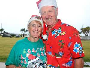 Getting into the spirit of chrismas at Kingscliff are