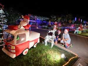 Christmas Lights - Ashton,8, and Jaiden,10, Rattray