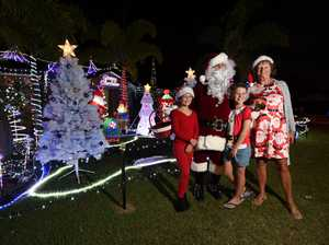 Christmas Lights - For 5 years Ron Henson has been
