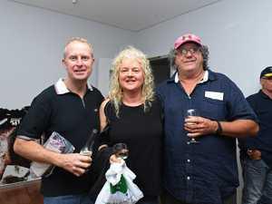 Justin Webber, Trena Waugh and Steve Waugh