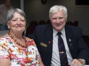 Judy and Dennis Pollard from the Wallangarra RSL.