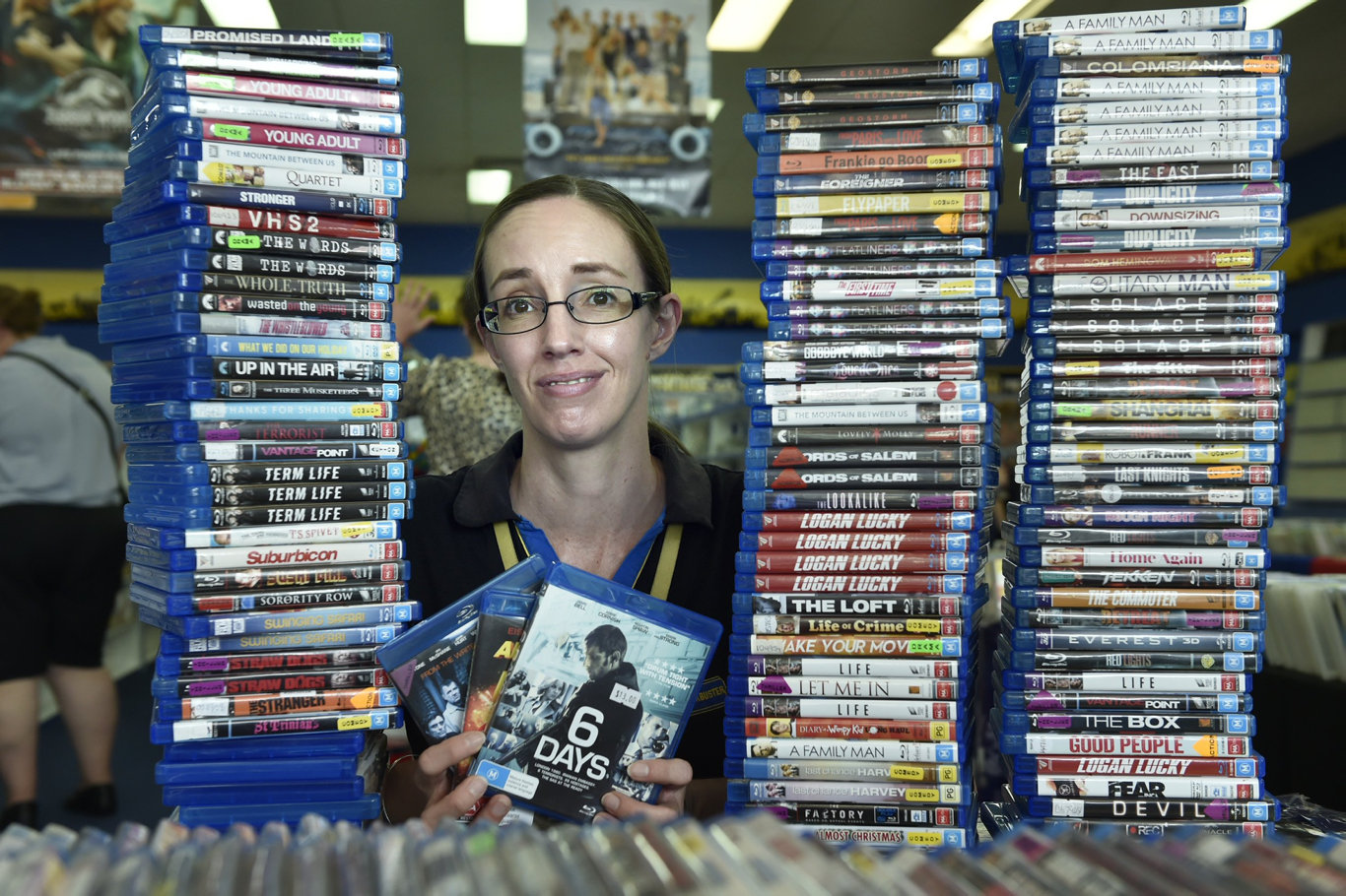 General Manager, Mel Carr. Blockbuster Video at Westridge Shopping Centre will close in mid January. December 2018
