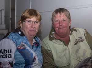 Sally Orreal and Rob Robertson.