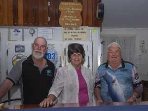 Heath Taylor, Robyn Hill and Allan Taylor.