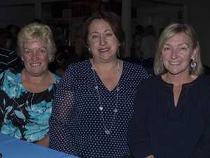 Karen Wren, Connie Taylor and Karen Taylor.