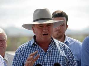 Barnaby Joyce in town to talk drought