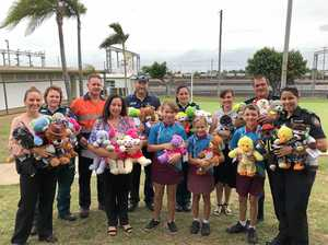 State school students make teddies to tackle tough times