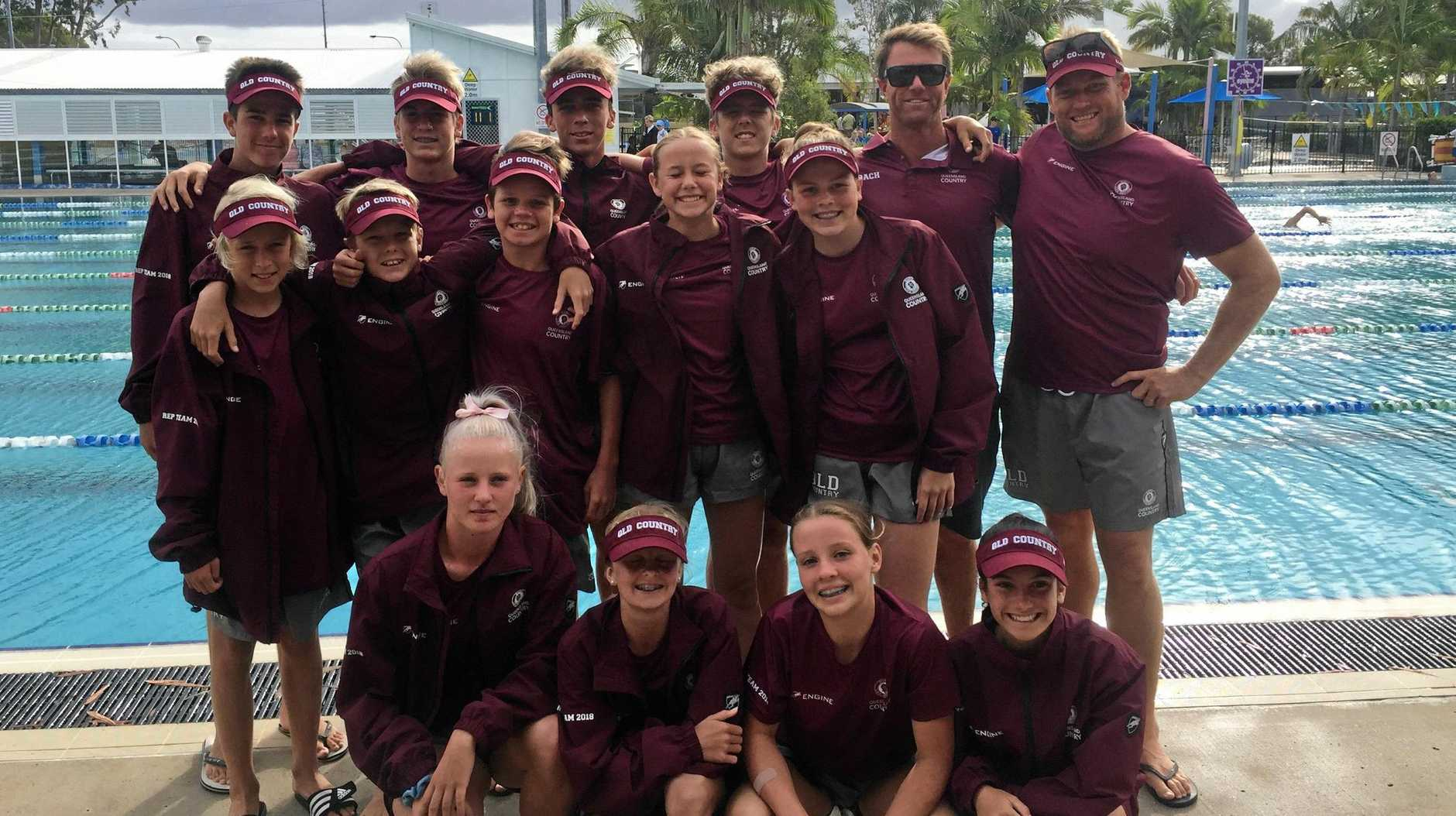 STRONG PERFORMANCE: The Tannum nippers impressed at Mooloolaba.