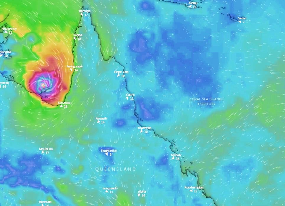 Ex-Tropical Cyclone Owen was expected to reform in the Gulf of Carpentaria on Wednesday and Thursday according to some weather modelling.