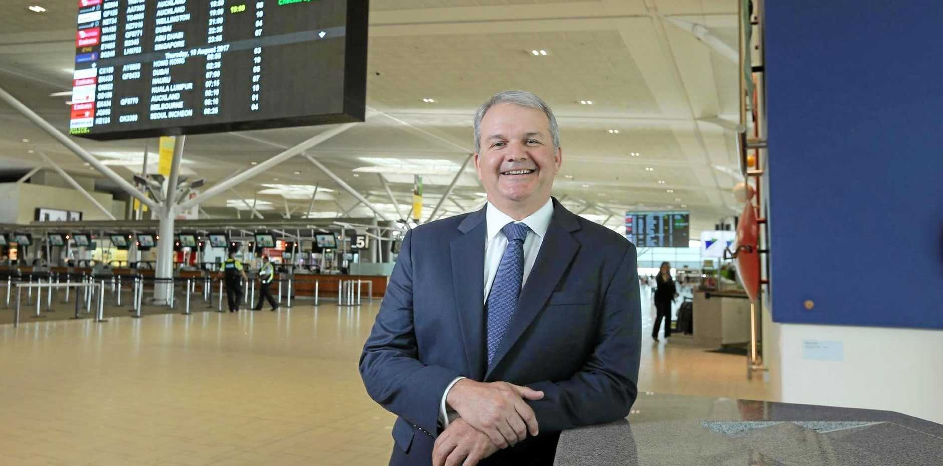 Andrew Brodie has been appointed the new CEO at the Sunshine Coast Airport.