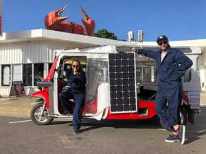 SolarTuk turning heads in Gladstone region