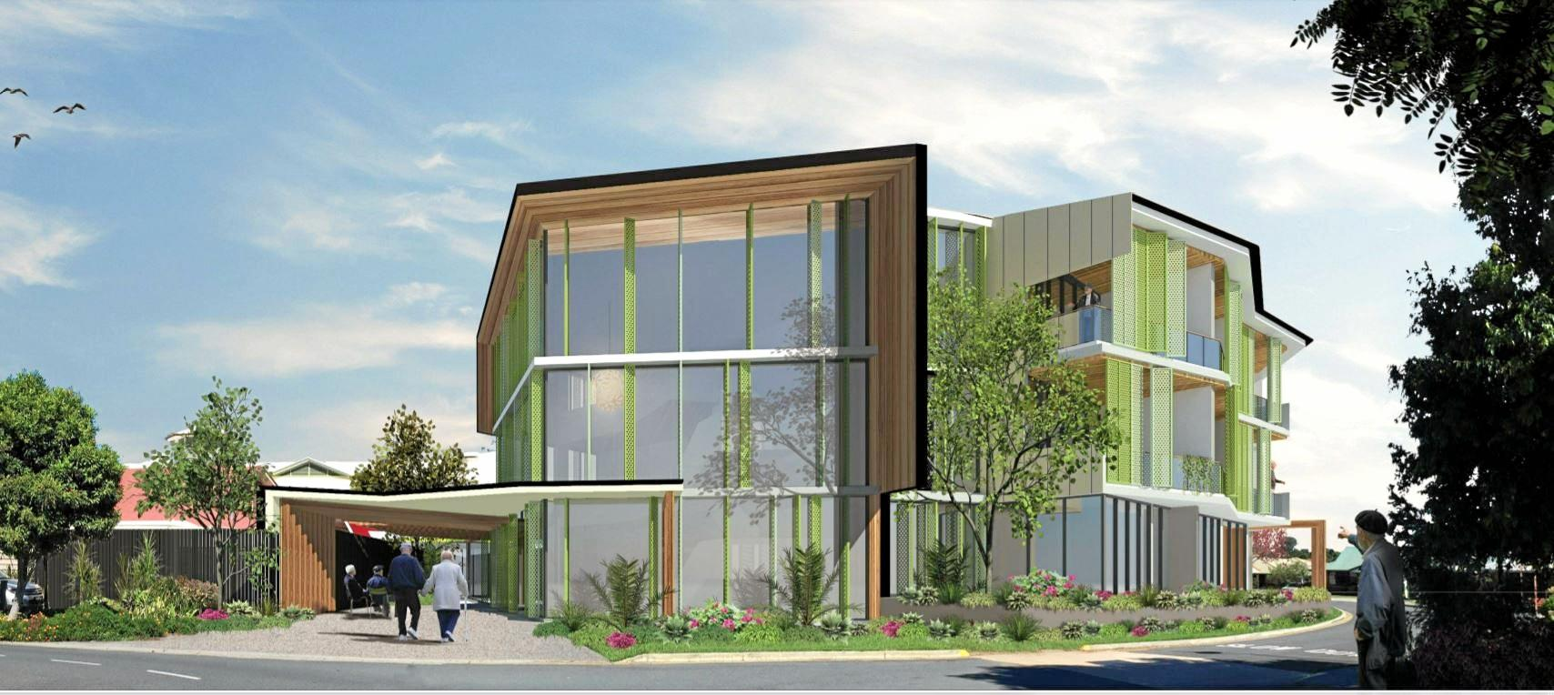 PLANNING: Artist impressions of RSL Care, Banora Point.