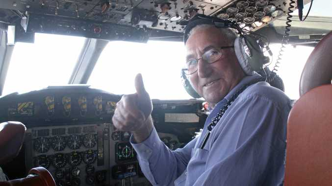Why Ballina man really, really wanted to be on this flight
