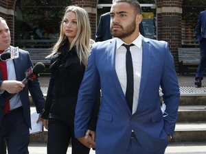 Fiancee stands by Walker, rejects assault claim