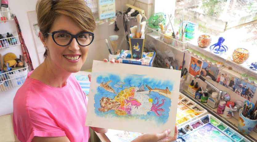 Dr Sue Pillans, a Brisbane marine scientist and artist, has released her first children's picture book .