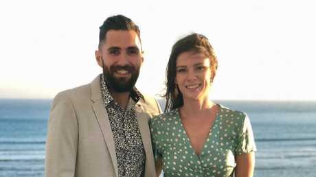 Sydney couple Hugo Da Silva and Bindi Cormack bought a flat after one year of saving.
