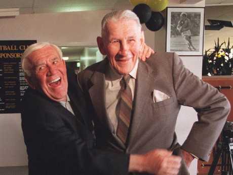 Lou Richards and Jack Dyer.