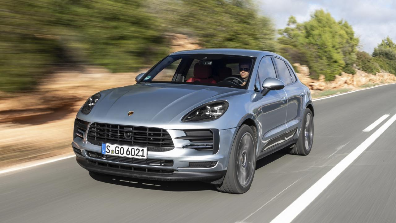 The Porsche Macan is the company's best selling vehicle.