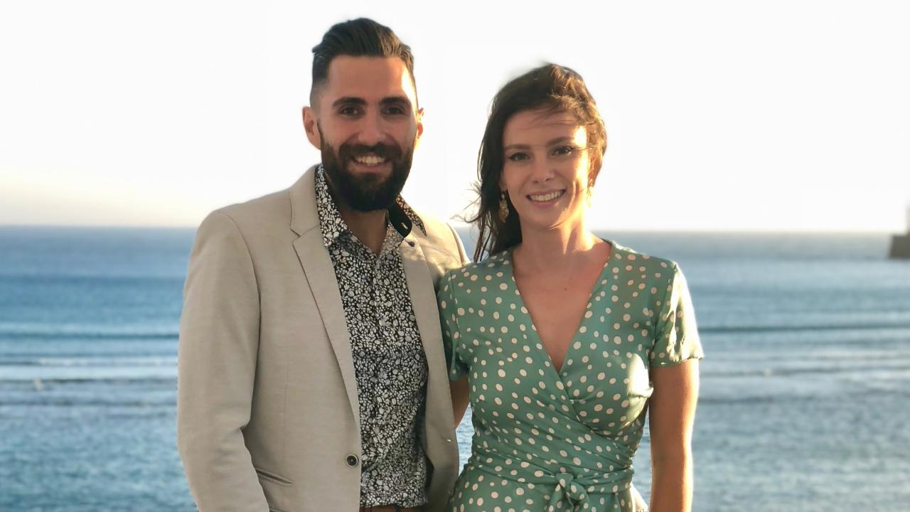 Sydney couple Hugo Da Silva and Bindi Cormack have just bought their first property.