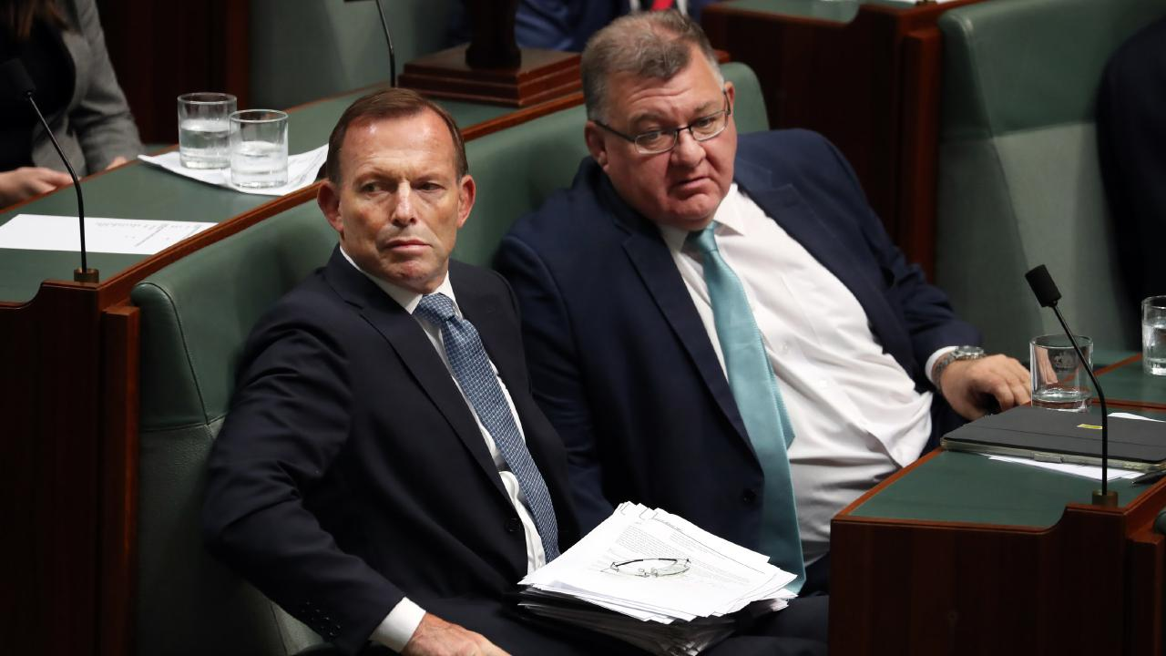 Polling shows six out of 10 people in Tony Abbott's seat of Warringah would vote against him. Picture: Gary Ramage