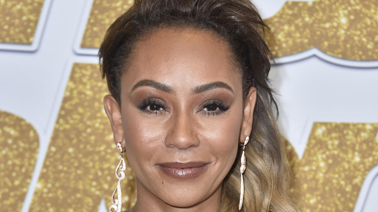 Spice Girl Mel B was rushed to hospital with broken ribs and 'severed' hand. Picture: Getty