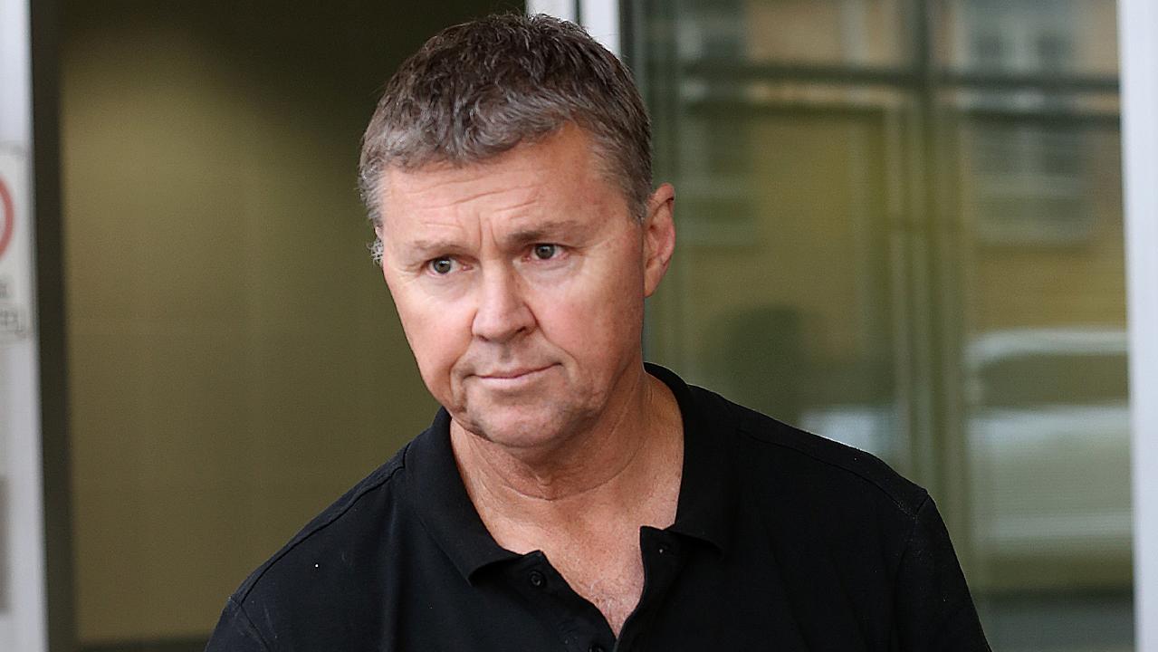 Former CFMEU union leader David Hanna.