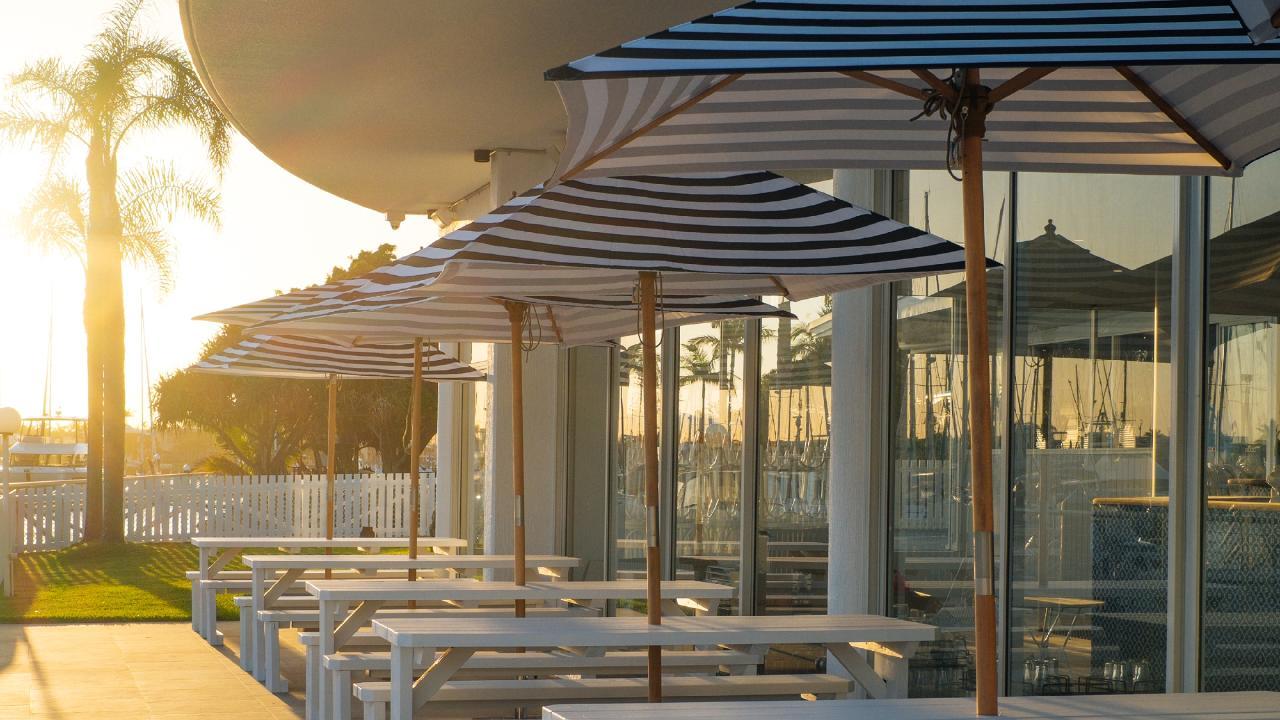 Restaurant Pier 33 in Mooloolaba.