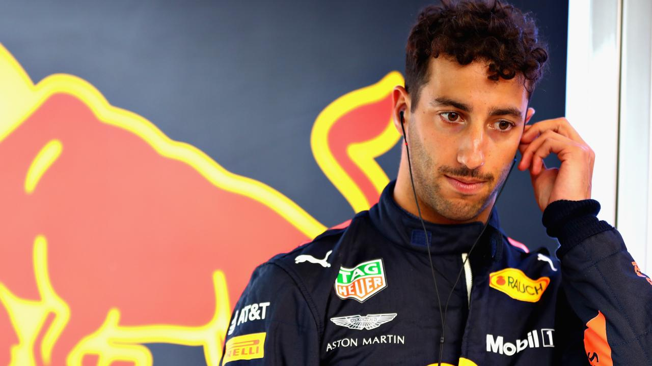 Daniel Ricciardo has opened up about his darkest days in racing. (Photo by Mark Thompson/Getty Images)