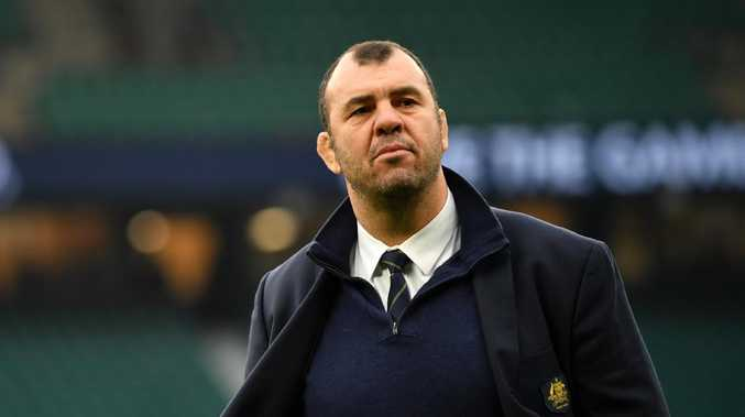 Michael Cheika's future is still up in the air.