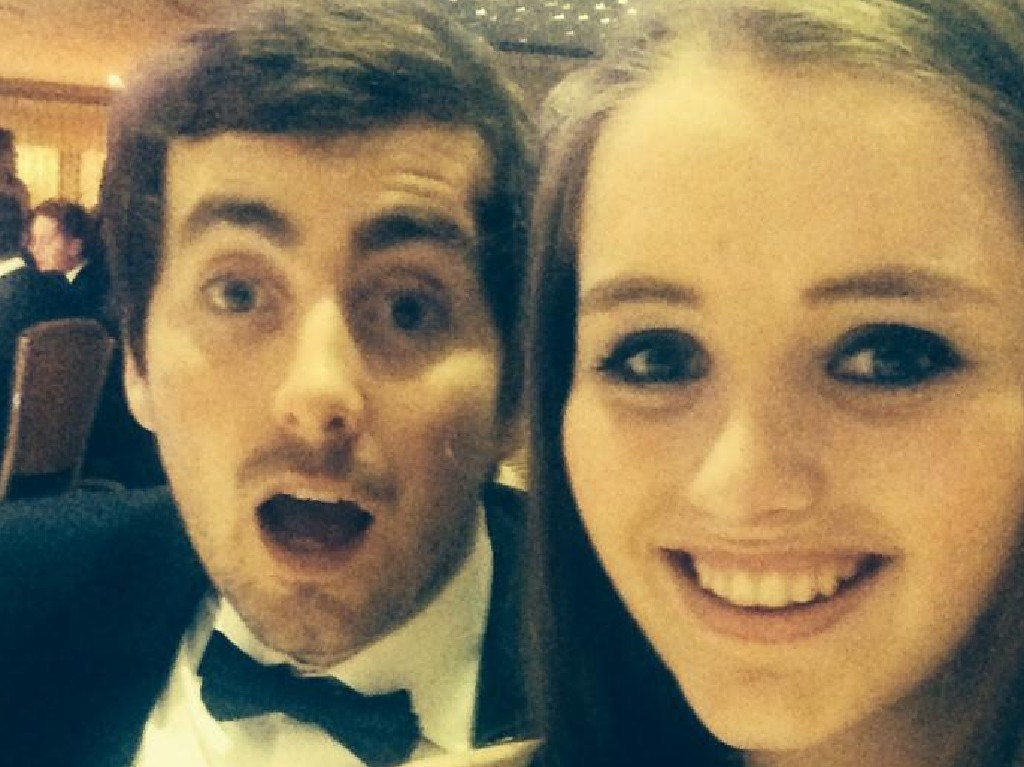 Grace Millane, 22, with her brother Declan. Picture: Facebook