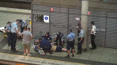 The teenager was found in distress at a nearby train station. Picture: 7 News