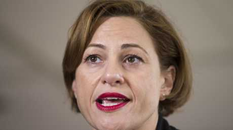Queensland Deputy Premier Jackie Trad attacked the LNP administration's decision to send manufacturing of the New Generation Rollingstock trains offshore. (AAP Image/Glenn Hunt)