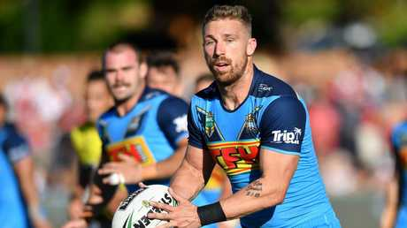 Bryce Cartwright will be looking for a regular return to first-grade. (AAP Image/Darren England)