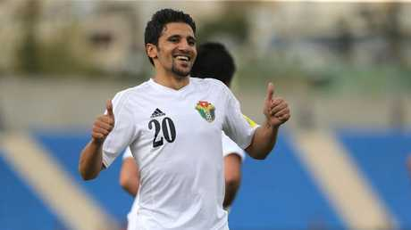 Jordan's player Hamza Al-Dardour has been left out of their squad for the Asian Cup