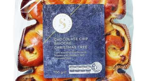 Specially Selected Chocolate Chip Brioche Christmas Tree $7.99, Aldi