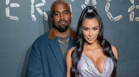 Kanye West and Kim Kardashian in New York. Picture: Roy Rochlin/Getty Images