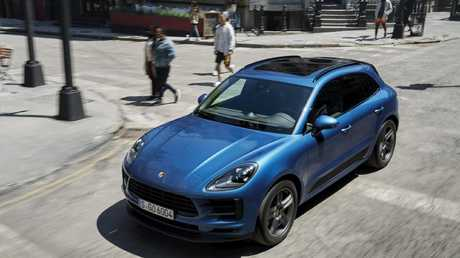 The Macan is brand's most affordable model.