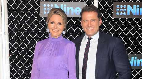 It's no secret there's tension between Georgie Gardner and Karl Stefanovic. Picture: Christian Gilles
