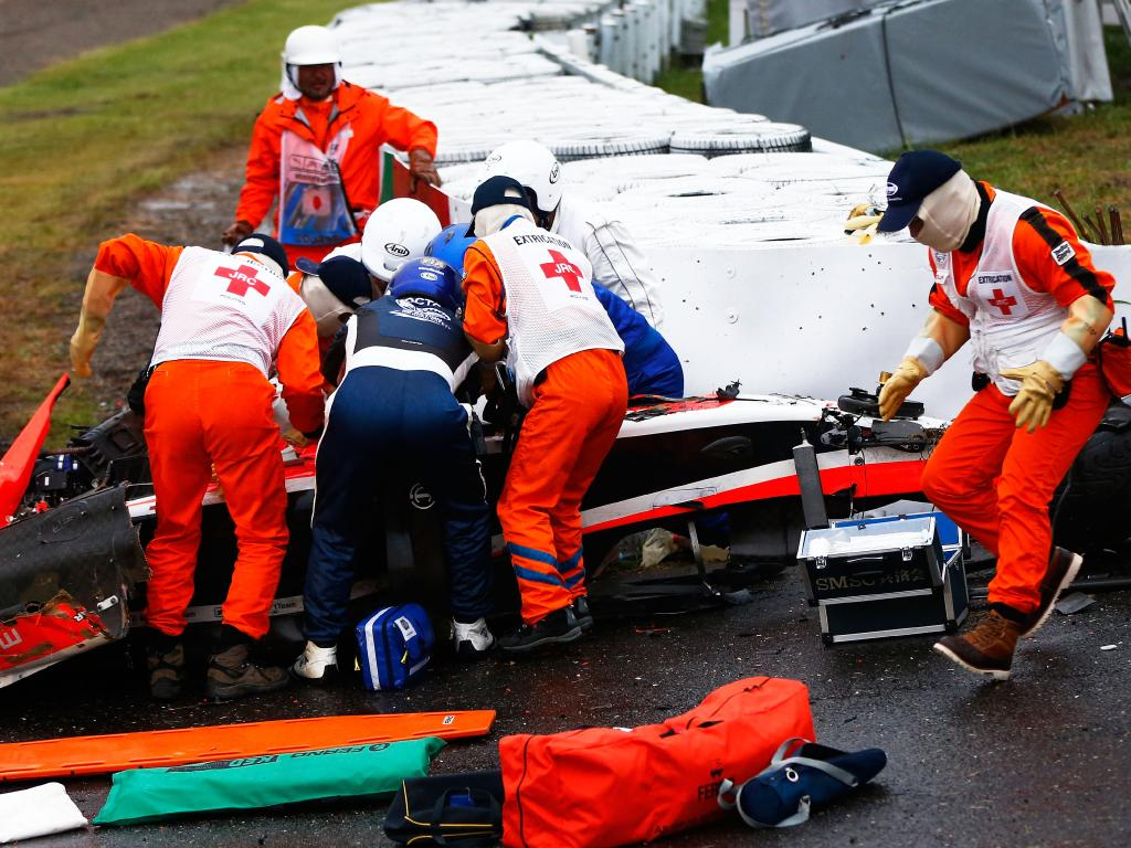 The 2014 Japanese Grand Prix was a dark day for racing.