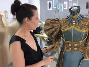 TAFE fashion exhibition displays stunning creations