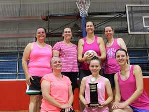 SCORE: The Pink Ladies took home the trophy at the