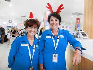 Getting ready for the Christmas rush at Gold Coast