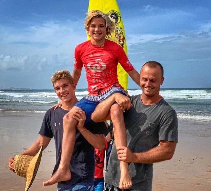 WINNER: Duke Wrencher wins at the Sunshine Coast.