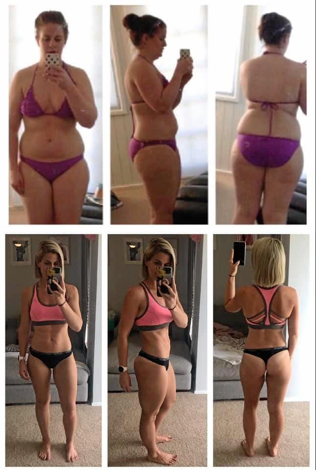 Stephanie Marriott lost 19kgs following The Healthy Mummy.