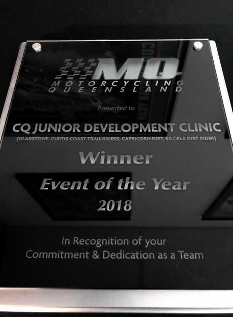 2018 CQ Junior Development Clinic as 'Event of the Year