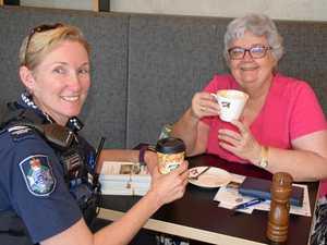 Police use caffeine to break down barriers