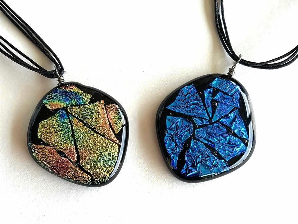 Leah Kelly from Leah's Creative Glass Designs will display her jewellery.