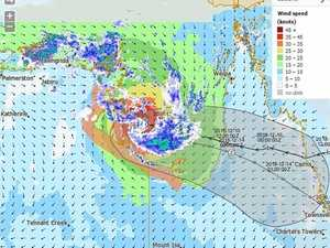 Wild weather predicted as cyclone picks up strength