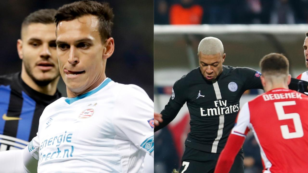 Trent Sainsbury and Milos Degenek took on world-class opponents in the Champions League