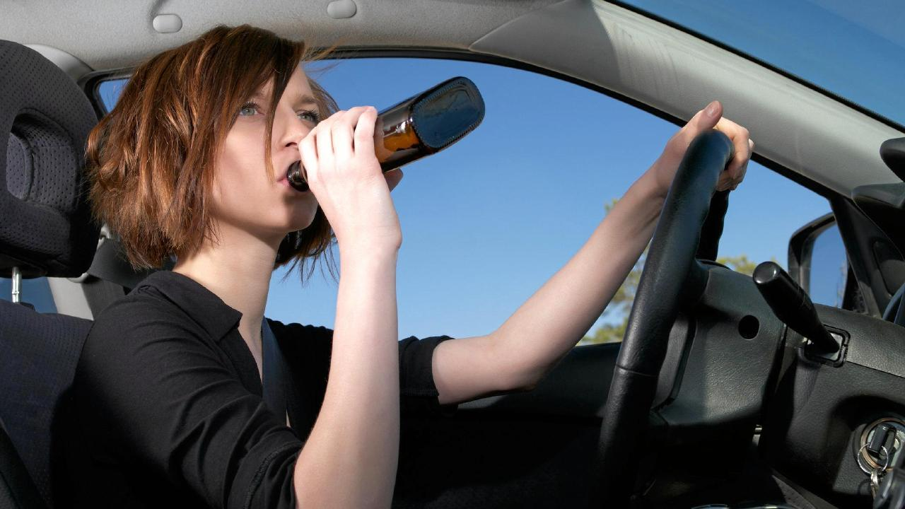 Women account for a higher proportion of drink-drivers in the regions. (File picture)